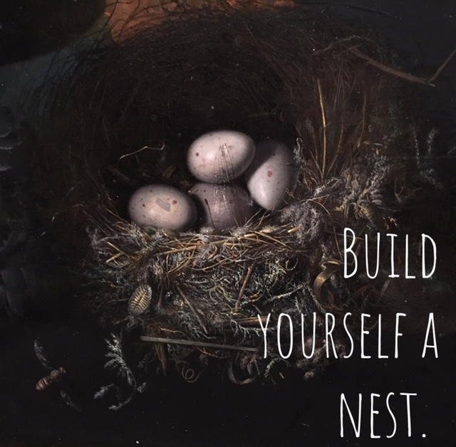 build yourself a nest with therapy