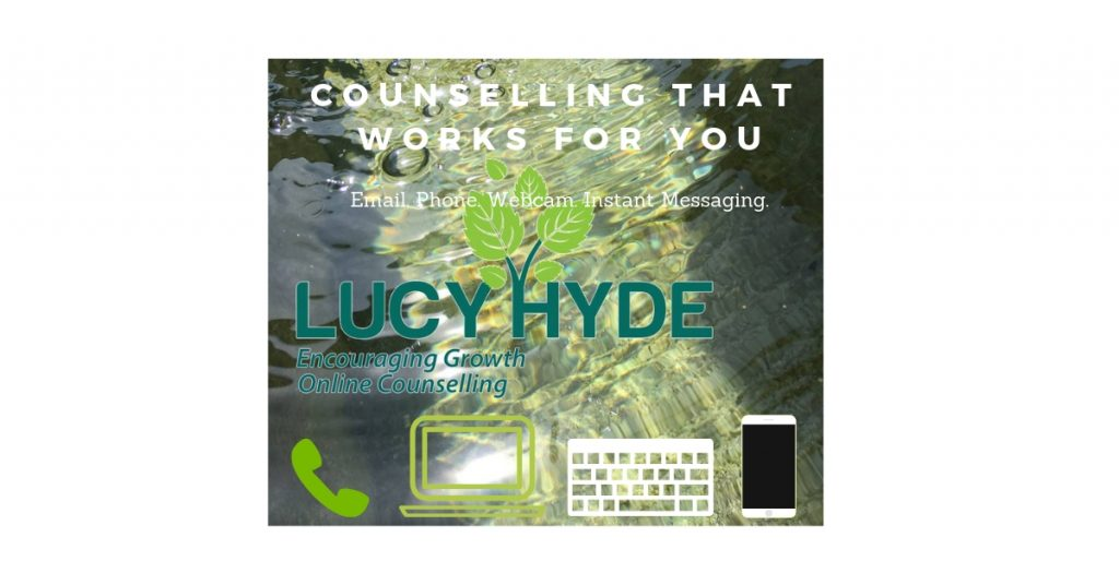Lucy Hyde online counselling by email phone webcam instant messaging