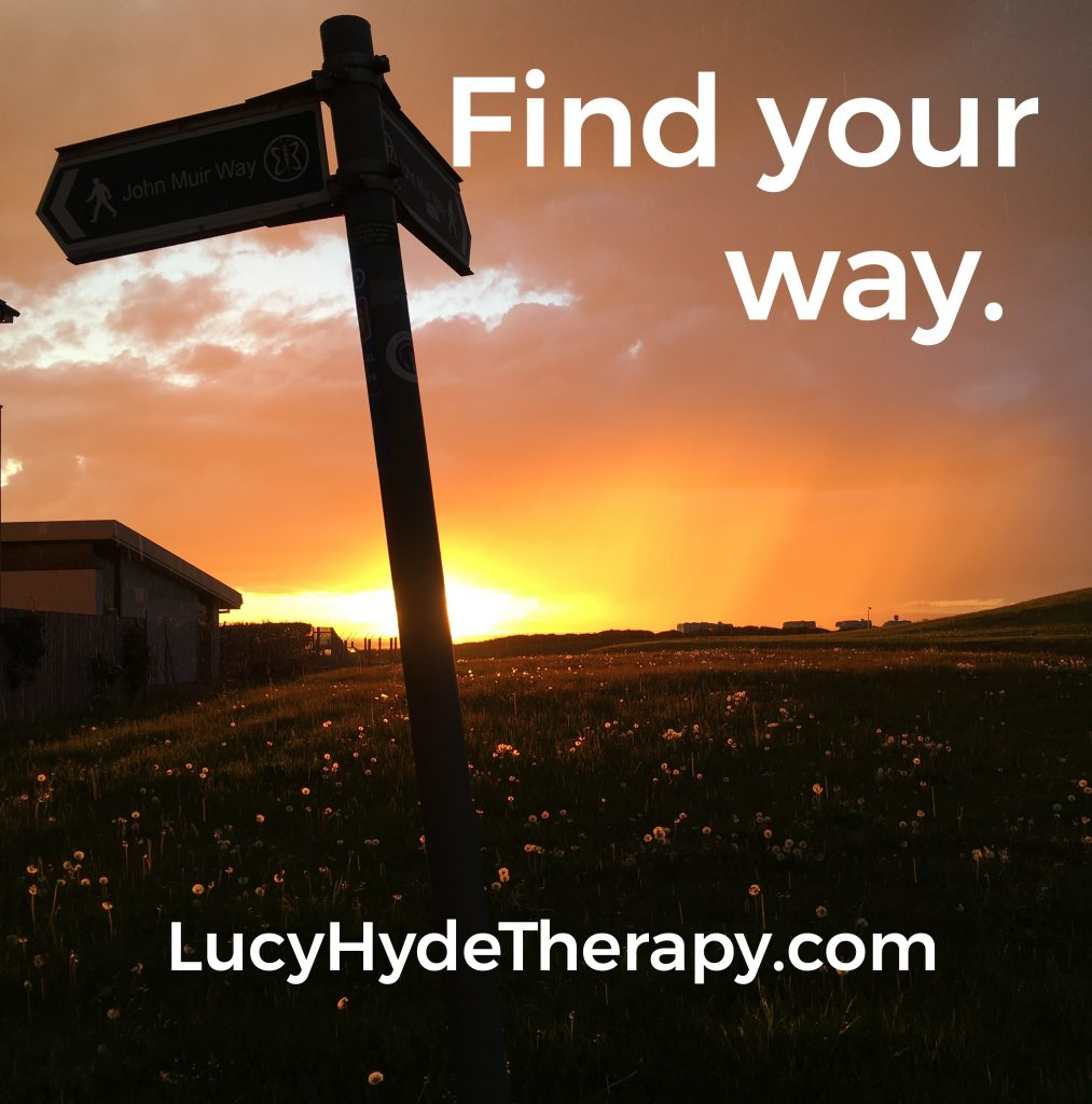 Lucy Hyde walk and talk counselling East Lothian