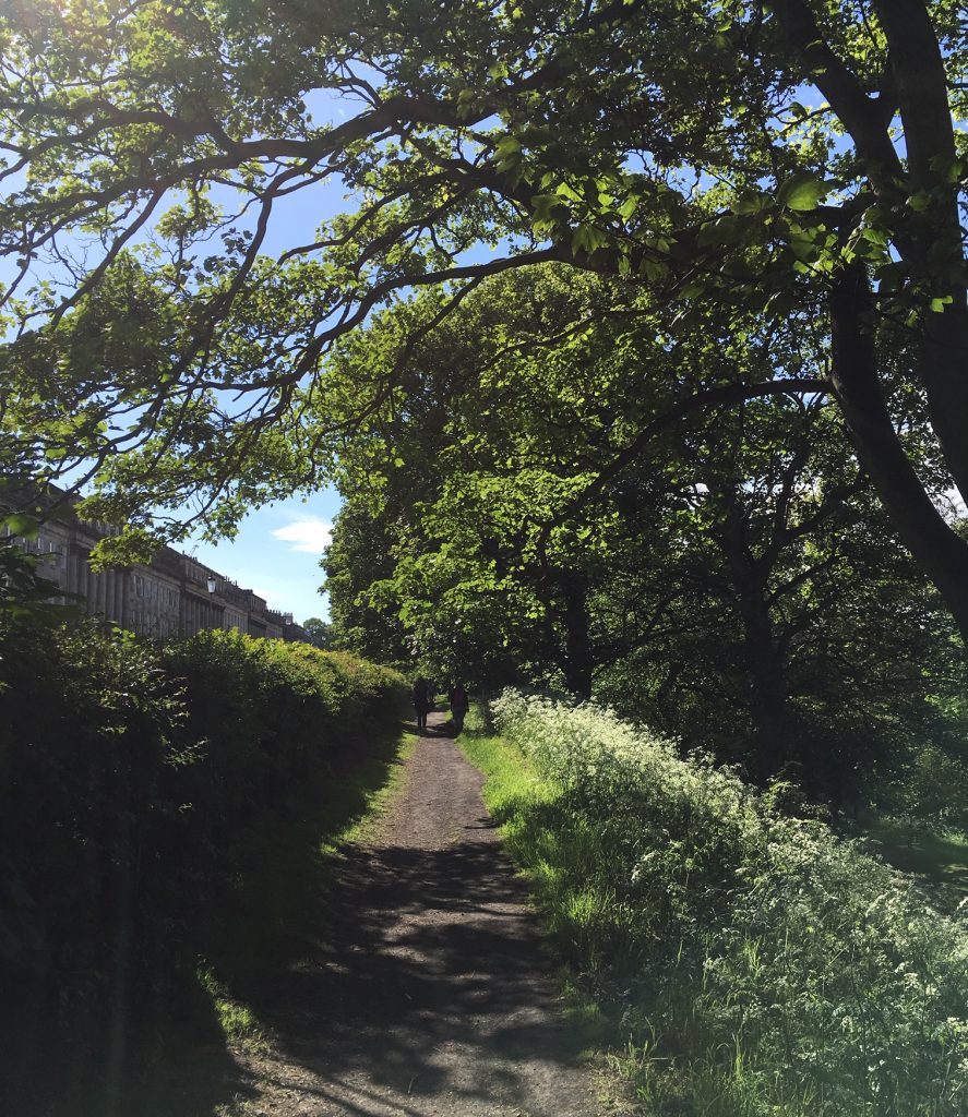 Lucy Hyde walk and talk therapy Edinburgh