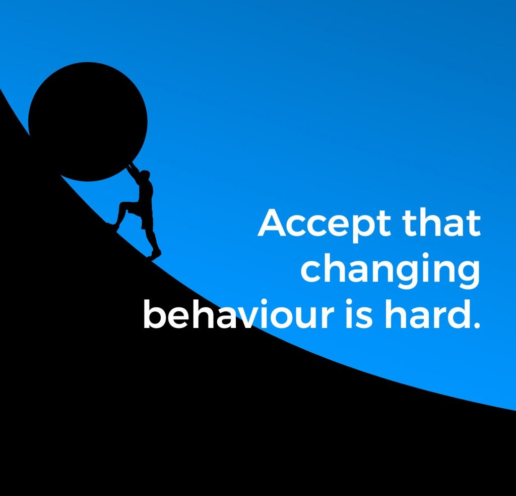 Tips to behavioural change - Lucy Hyde therapy online