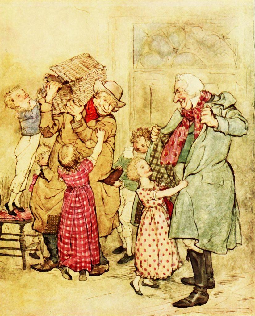 Arthur Rackham Christmas 1 Prawny from Pixabay