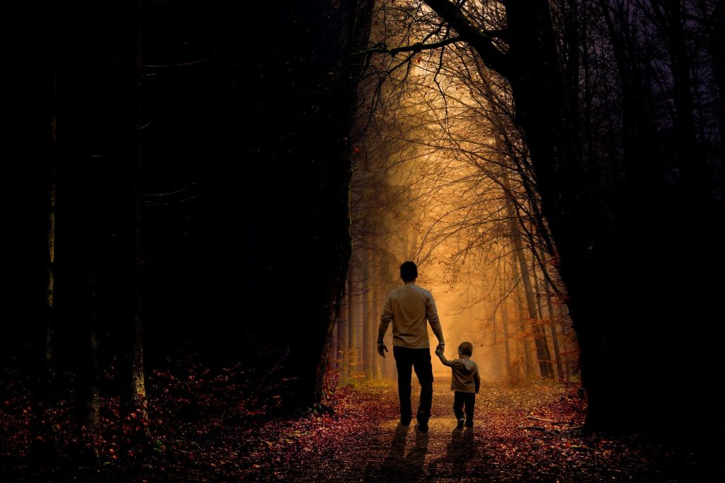 Counselling - father and son relationship (image Lorraine Cormier from Pixabay)