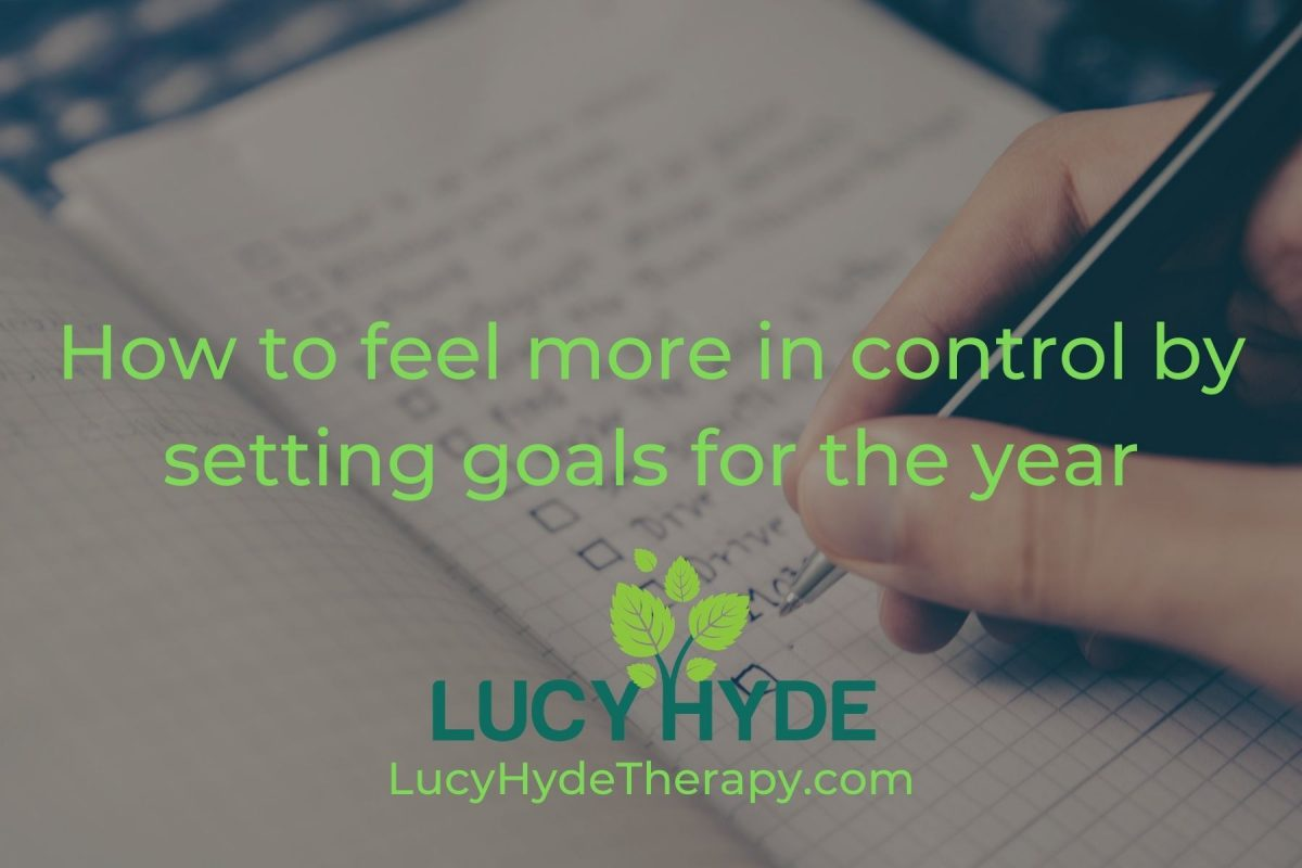 How to feel more in control by setting goals for the year
